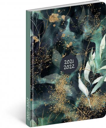 18měsíční diář Petito – Eukalyptus 2021/2022, 11 × 17 cm