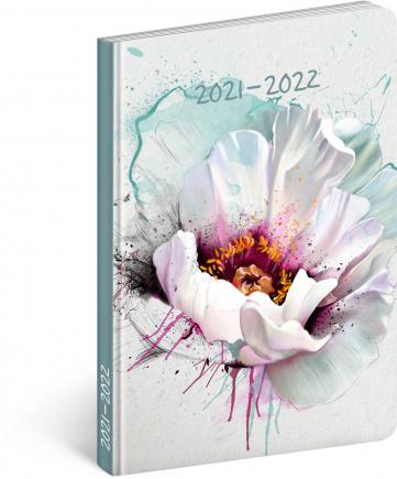 18měsíční diář Petito – Květ 2021/2022, 11 × 17 cm