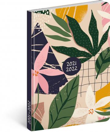 18měsíční diář Petito – Listy 2021/2022, 11 × 17 cm