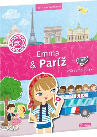 EMMA & PARÍŽ – Mesto plné samolepiek