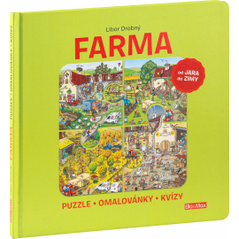FARMA – Puzzle, omalovánky, kvízy