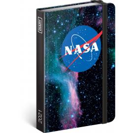 Týdenní diář NASA 2021, 11 × 16 cm