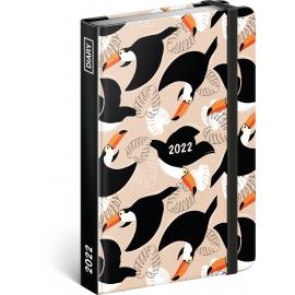 Týdenní diář Tukani 2022, 11 × 16 cm
