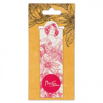 Magnetická záložka Alfons Mucha – Ruby, Fresh Collection