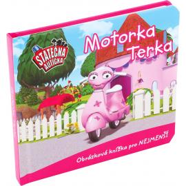 Motorka Terka - leporelo kniha Statečná autíčka
