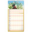 Nástěnný kalendář Rodinný plánovací Krteček XXL 2022, 33 × 64 cm