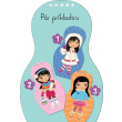 Obliekame eskimácke bábiky ANOUK – Maľovanky