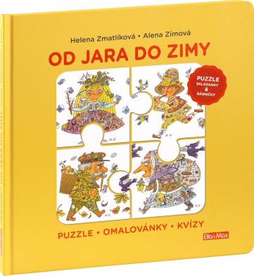 OD JARA DO ZIMY – Puzzle, básničky, omalovánky, kvízy