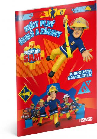 Požárník Sam - Červená kniha aktivit