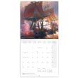 Poznámkový kalendář Bitevní lodě 2021, 30 × 30 cm