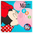 Poznámkový kalendář Minnie 2021, s 50 samolepkami, 30 × 30 cm