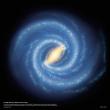 Poznámkový kalendář NASA 2021, 30 × 30 cm