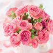Poznámkový kalendář Růže 2021, voňavý, 30 × 30 cm