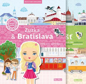 Sada Zuzka & Bratislava a Sára & Budapešť