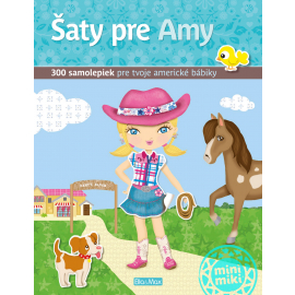 Šaty pre AMY ─ Kniha samolepiek
