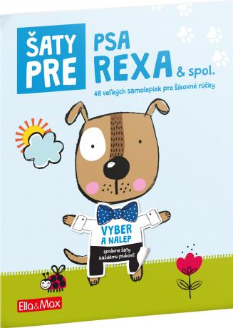 Šaty pre PSA REXA ─ Kniha samolepiek