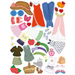 Šaty pre TEREZKU – Kniha samolepiek