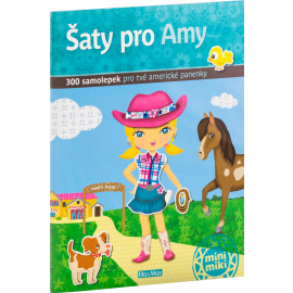 Šaty pro AMY - kniha samolepek