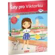 Šaty pro VIKTORKU ─ Kniha samolepek