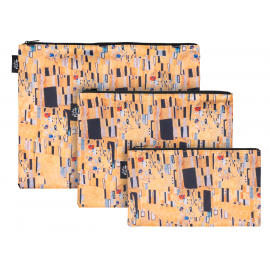 Set 3 taštiček Klimt