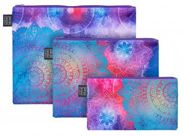 Set 3 taštiček Mandala