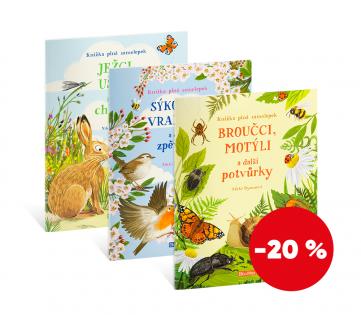 Set knih - Zvířátka