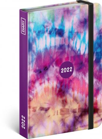 Týdenní diář Batika 2022, 11 × 16 cm