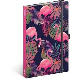 Týždenný diár Flamingos 2021, 13 × 21 cm