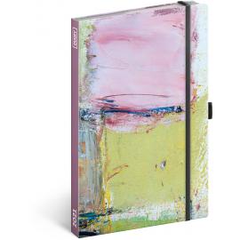 Týdenní diář Malba 2021, 13 × 21 cm