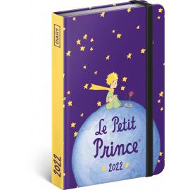 Týdenní diář Malý princ – Planeta 2022, 11 × 16 cm