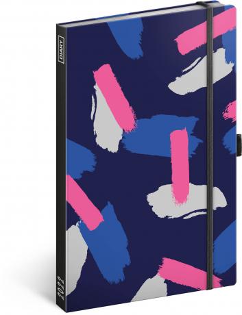 Týdenní diář Melange 2022, 13 × 21 cm