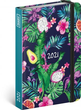Týdenní diář Ovoce 2021, 11 × 16 cm
