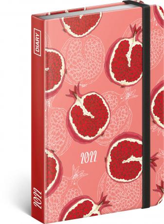 Týdenní diář Ovoce 2022, 11 × 16 cm