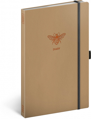 Týdenní diář Včela 2022, 13 × 21 cm