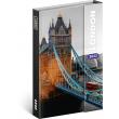 Týdenní magnetický diář Londýn 2022, 11 × 16 cm