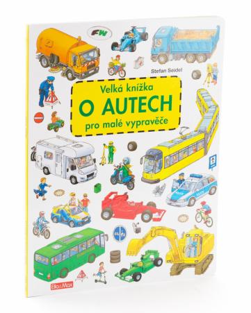 Velká knížka o autech pro malé vypravěče - kniha