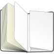 Zápisník milovnice knih, 13 × 21 cm