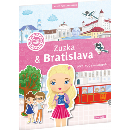 ZUZKA & BRATISLAVA – Město plné samolepek