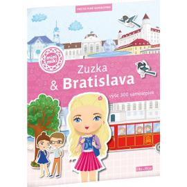 ZUZKA & BRATISLAVA – Mesto plné samolepiek